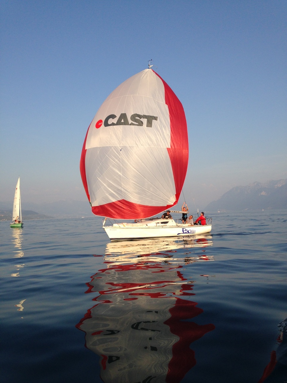 dotCAST goes sailing